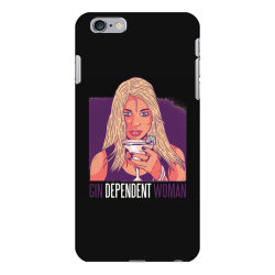 gin dependent woman iPhone 6 Plus/6s Plus Case | Artistshot