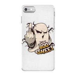 ghost flipping off iPhone 7 Case | Artistshot