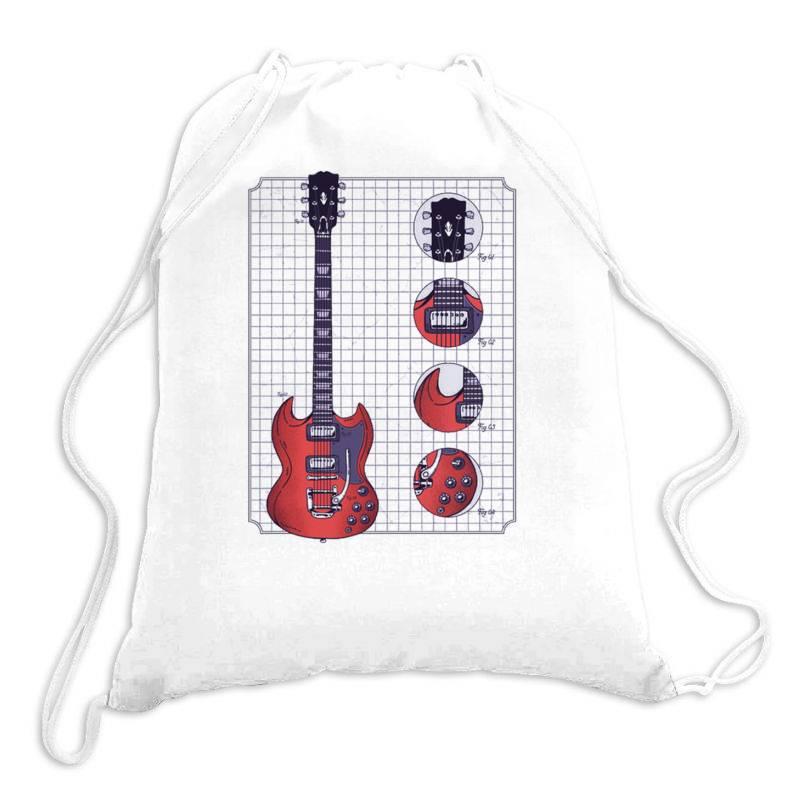 Gibson Guitar Drawstring Bags   Artistshot