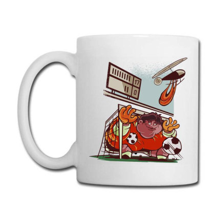 Goalkeeper Coffee Mug Designed By Zizahart