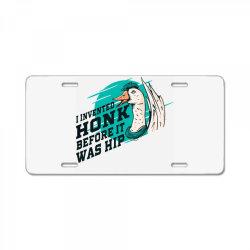 goose License Plate   Artistshot