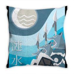 southern water logo Throw Pillow | Artistshot
