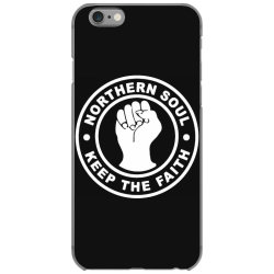 northern soul keep the faith iPhone 6/6s Case | Artistshot