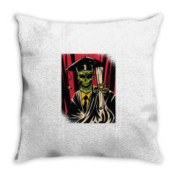 graduate skull Throw Pillow   Artistshot