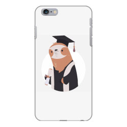 graduate sloth iPhone 6 Plus/6s Plus Case | Artistshot