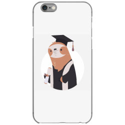 graduate sloth iPhone 6/6s Case | Artistshot