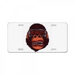 gorilla reality License Plate | Artistshot