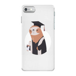 graduate sloth iPhone 7 Case | Artistshot