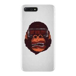 gorilla reality iPhone 7 Plus Case | Artistshot
