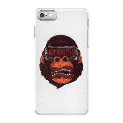 gorilla reality iPhone 7 Case | Artistshot