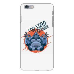 gorilla meditaiting iPhone 6 Plus/6s Plus Case | Artistshot