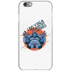 gorilla meditaiting iPhone 6/6s Case | Artistshot