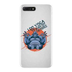 gorilla meditaiting iPhone 7 Plus Case | Artistshot