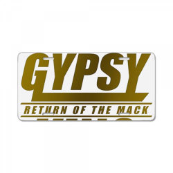 the gypsy king boxer License Plate   Artistshot
