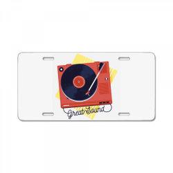 great sound License Plate | Artistshot