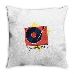 great sound Throw Pillow | Artistshot