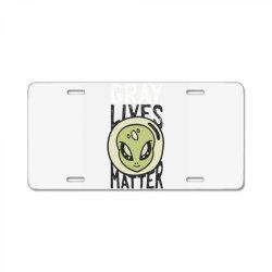 gray lives matter License Plate | Artistshot