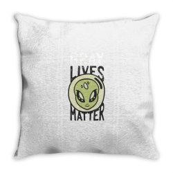 gray lives matter Throw Pillow | Artistshot