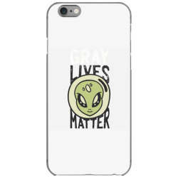 gray lives matter iPhone 6/6s Case | Artistshot