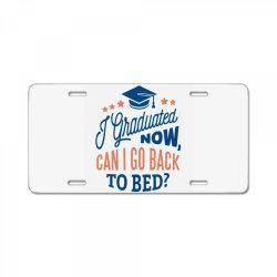 graduation License Plate | Artistshot