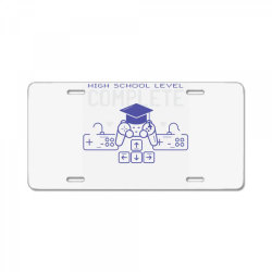 graduation gaming License Plate | Artistshot