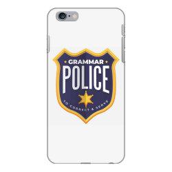 grammar police badge iPhone 6 Plus/6s Plus Case   Artistshot