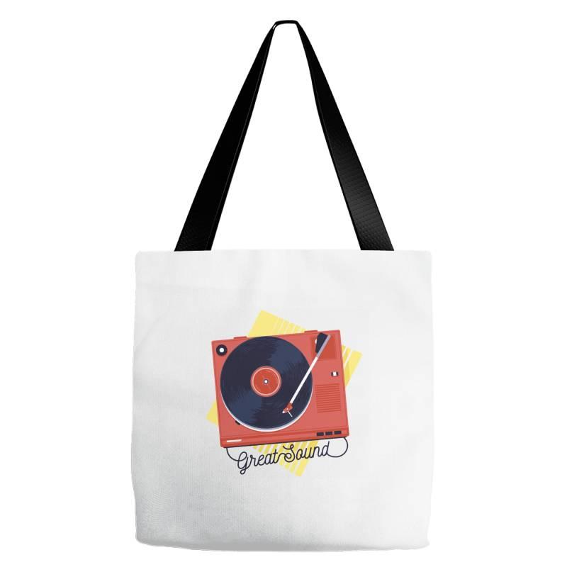 Great Sound Tote Bags | Artistshot