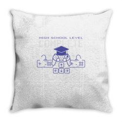 graduation gaming Throw Pillow | Artistshot