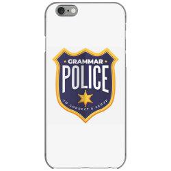 grammar police badge iPhone 6/6s Case   Artistshot