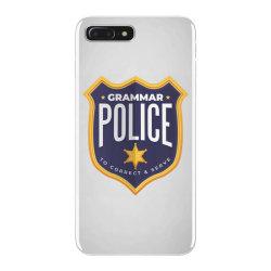 grammar police badge iPhone 7 Plus Case   Artistshot