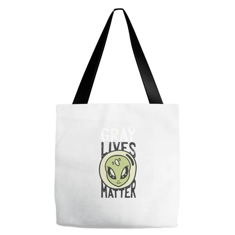 Gray Lives Matter Tote Bags | Artistshot
