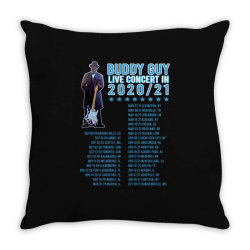 buddy guy Throw Pillow | Artistshot