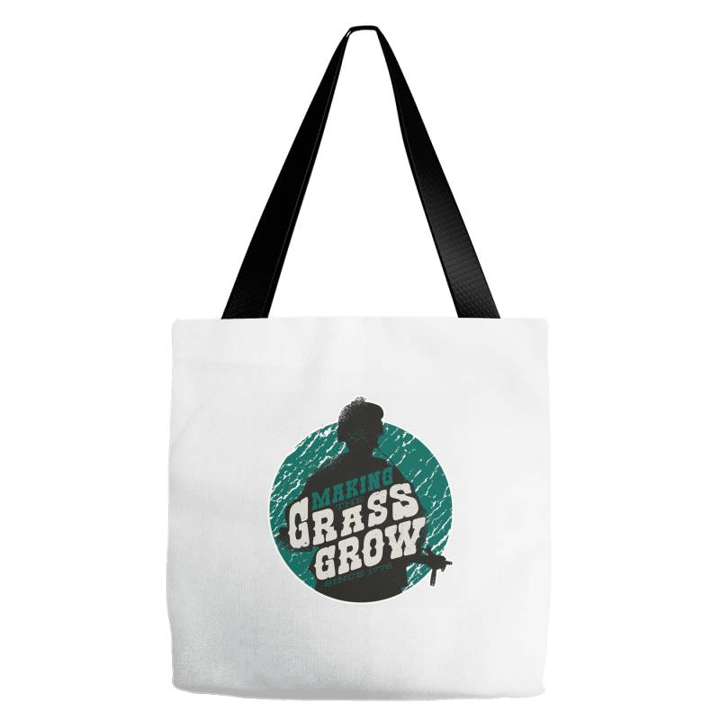 Grass Grow Tote Bags | Artistshot