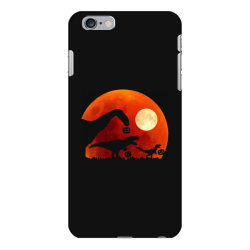 t rex dinosaur pumpkin halloween moon iPhone 6 Plus/6s Plus Case | Artistshot