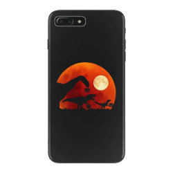 t rex dinosaur pumpkin halloween moon iPhone 7 Plus Case | Artistshot