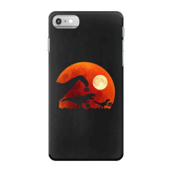 t rex dinosaur pumpkin halloween moon iPhone 7 Case | Artistshot