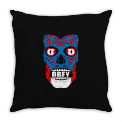 obey face funny Throw Pillow | Artistshot