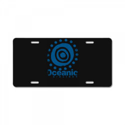 oceanic airlines License Plate | Artistshot