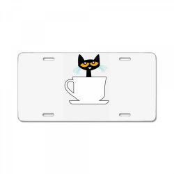 officially licensed book character morning coffee ladies funny License Plate | Artistshot