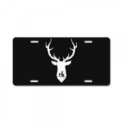 oh deer License Plate | Artistshot