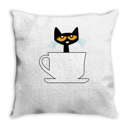 officially licensed book character morning coffee ladies funny Throw Pillow | Artistshot