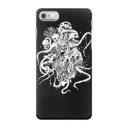 octopus skull death metal iPhone 7 Case | Artistshot