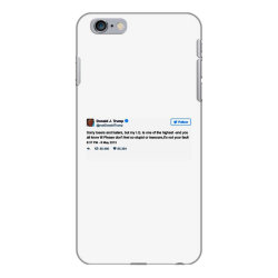 trump is smarter tweet iPhone 6 Plus/6s Plus Case | Artistshot