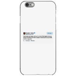 trump is smarter tweet iPhone 6/6s Case | Artistshot