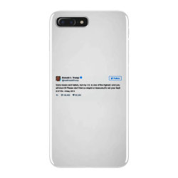 trump is smarter tweet iPhone 7 Plus Case | Artistshot