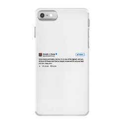 trump is smarter tweet iPhone 7 Case | Artistshot