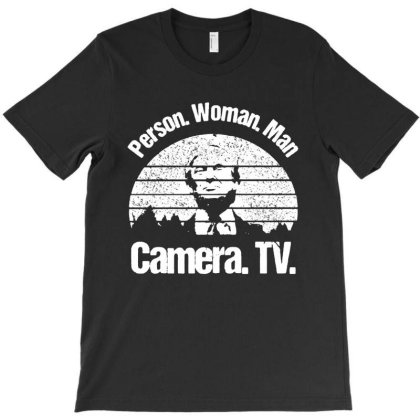 Trump Person Woman Man Camera Tv Vintage T-shirt Designed By Kathrin Sutter