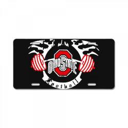 ohio state License Plate   Artistshot