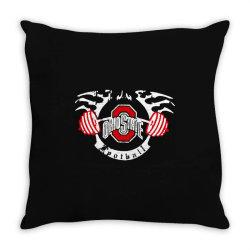 ohio state Throw Pillow   Artistshot
