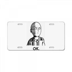 ok hero (2) License Plate | Artistshot